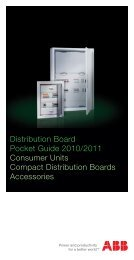 Distribution Board Pocket Guide 2010/2011 ... - Striebel & John
