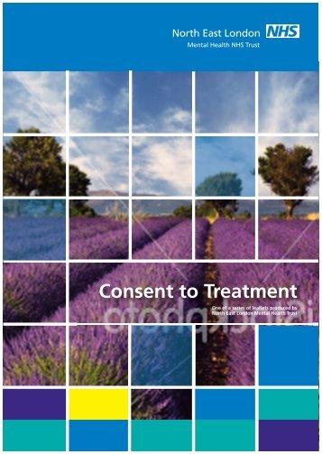 Consent to Treatment information - North East London NHS ...