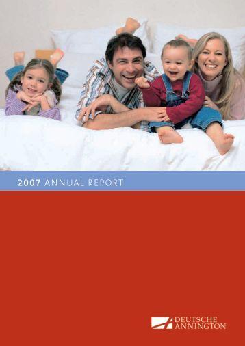 2007 AnnuAl report - Deutsche Annington