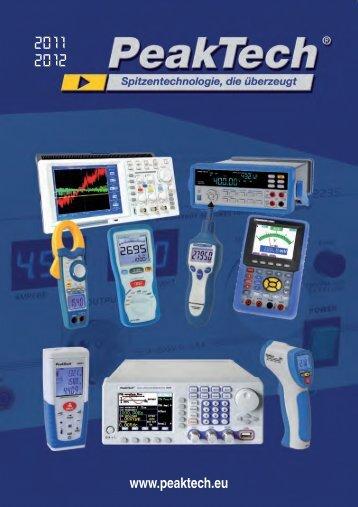 www.peaktech.eu