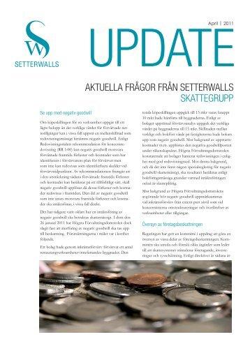 Skatt (pdf) - Setterwalls