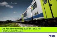 Die BLS Netz AG unter der Führung der BLS AG