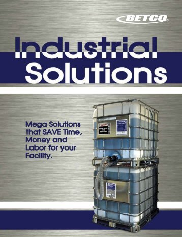 91111-92 Industrial Brochure - Betco Corporation