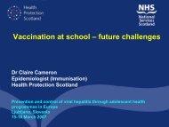 Vaccination at school - Viral Hepatitis Prevention Board