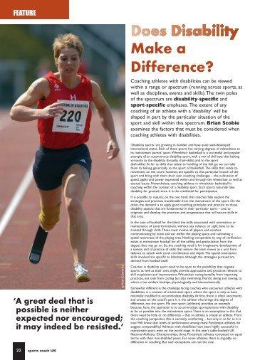 Coaching Edge Issue 5 - sports coach UK