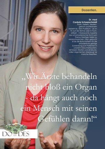 Interview lesen - Zentrum SAN ESPRIT