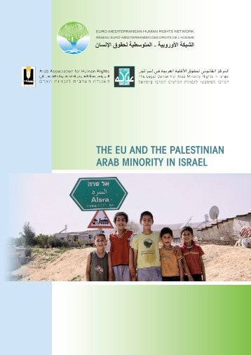 The eU and The PalesTinian arab MinoriTy in israel - Euromedrights