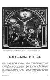 RIBE DOMKIRKE · INVENTAR - Danmarks Kirker - Nationalmuseet