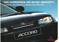 business und fine—line. - Honda Accord - Prospekte