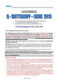 Q-Wettkämpfe 2013 - zürich-athletics