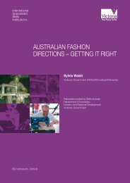 australian fashion directions – getting it right - International ...