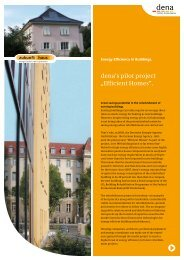 "dena's pilot project ""Efficient Homes"". - Zukunft Haus"