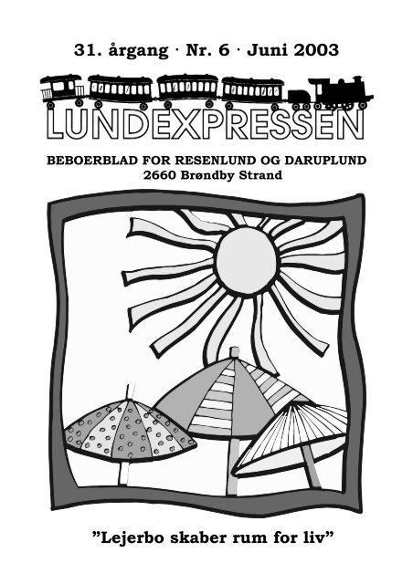 31. årgang · Nr. 6 · Juni 2003 - lundens.net