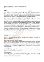 İç Mekan Düzenlemesi ve Mobilya Tasarımı ... - Arkitera.com