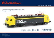 Novedades Electrotren - Railwaymania.com