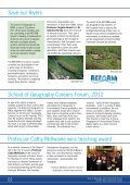 Spring/Summer 2012 issue - School of Geography - Queen Mary ... - Page 2