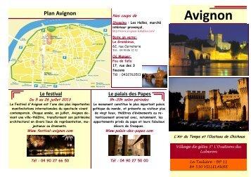 Fiche Avignon - Un coin Tranquille en Provence L'OUSTAOU DU ...