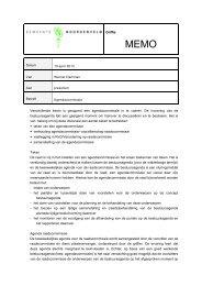 memo adviescommissie.pdf - Bestuur Noordenveld
