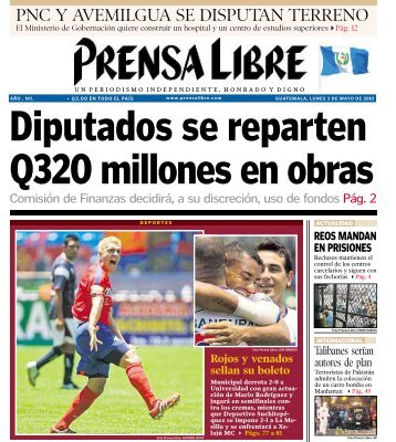 PNC Y AVEMILGUA SE DISPUTAN TERRENO - Prensa Libre