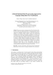 A Hybrid Statistical Data Pre-processing Approach for ... - CiteSeerX