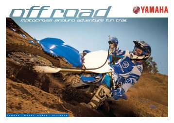 motocross enduro adventure fun trail - Yamaha Motor Australia