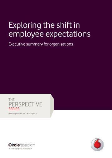 Exploring the shift in employee expectations - Vodafone