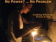 No Power Cookers ppt.pdf - Peace of Preparedness
