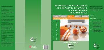 metodologia d'avaluació de pro - ctesc