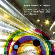 teknologier og løsninger der kan effektivisere vores ... - Lean Energy