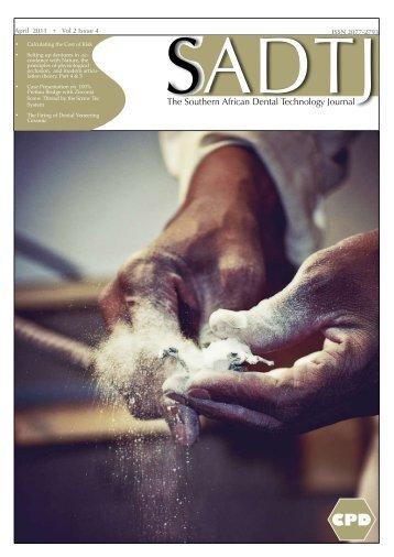 SADTJ Vol 2 Issue 4 - dentasa