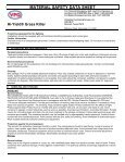 Hi-Yield Grass Killer Postemergence Herbicide MSDS - Do My Own ... - Page 3