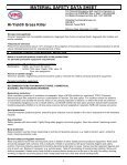 Hi-Yield Grass Killer Postemergence Herbicide MSDS - Do My Own ... - Page 4