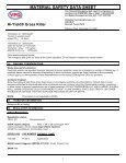Hi-Yield Grass Killer Postemergence Herbicide MSDS - Do My Own ... - Page 7