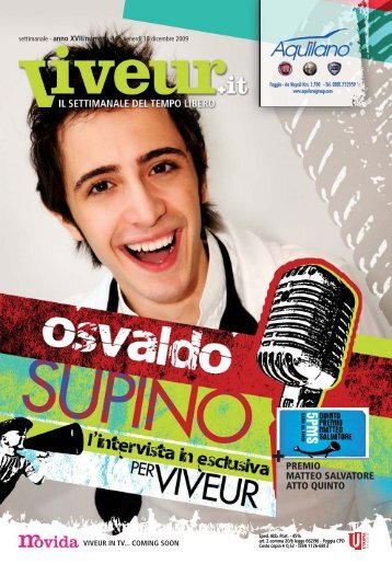 Osvaldo Supino - Viveur
