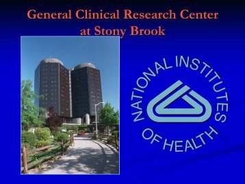 General Clinical Research Center - Stony Brook Medicine