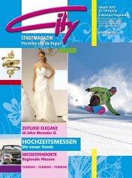 HOCHZEITSMESSEN - CITY Stadtmagazin