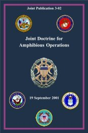 Joint Doctrine for Amphibious Operations - Historic Naval Ships ...