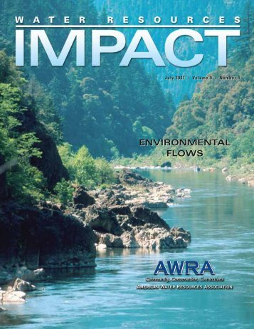 ENVIRONMENTAL FLOWS - American Water Resources Association