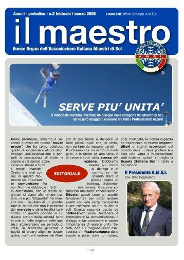 anno I - periodico - n.2 febbraio/marzo 2008 - Trentino Sci