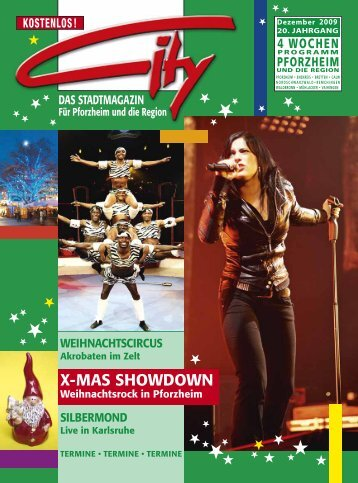 2. X-Mas Showdown - CITY Stadtmagazin
