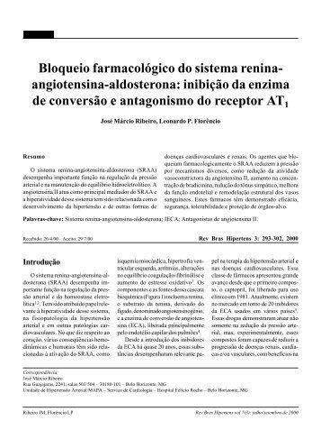Bloqueio farmacológico do sistema renina- angiotensina-aldosterona