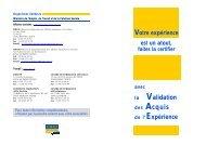 des Acquis - Le conseil VAE en Bretagne - GREF Bretagne