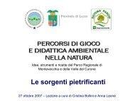 Le rocce sedimentarie - Parco di Montevecchia e della Valle del ...