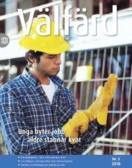 Unga byter jobb – äldre stannar kvar (pdf) - Statistiska centralbyrån