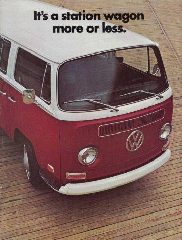 It's a statioii wagon ,; - Baduras Volkswagen T2-Bulli Seite