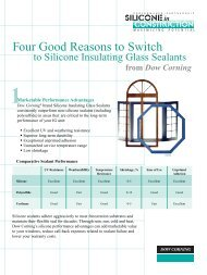 Four Good Reasons to Switch to Silicone Insulating ... - Dow Corning