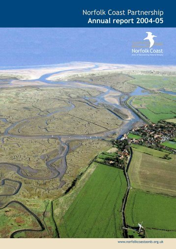 2004-5 Annual Report - Norfolk Coast Area of Outstanding Natural ...
