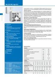 VALLOX KWL digit SE+ - Heinemann GmbH