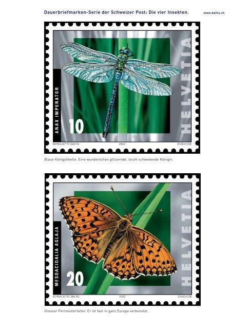 Vier Insekten. Bernadette-Baltis_Archiv