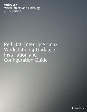 Red Hat® Enterprise Linux® Workstation 4 Update 2 ... - Autodesk